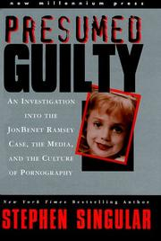 PRESUMED GUILTY  Presumed Guilty Book