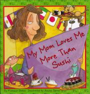 Book Cover for MY MOM LOVES ME MORE THAN SUSHI