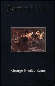 BOYS OF GOLD by George Brinley Evans