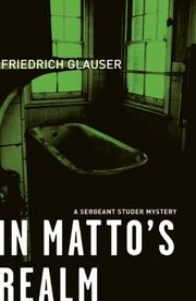 IN MATTO'S REALM by Friedrich Glauser