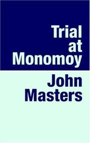 TRIAL AT MONOMOY by John Masters