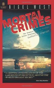 MORTAL CRIMES by Nigel West