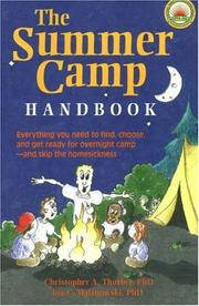 THE SUMMER CAMP BOOK HANDBOOK by Christopher A. Thurber
