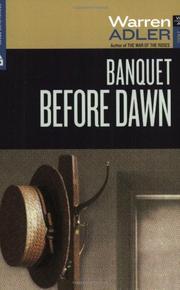 BANQUET BEFORE DAWN by Warren Adler