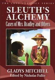 SLEUTH'S ALCHEMY by Gladys Mitchell