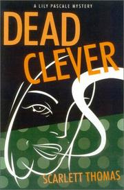 Cover art for DEAD CLEVER