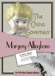 Cover art for THE CHINA GOVERNESS