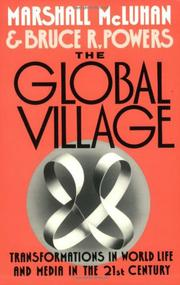 THE GLOBAL VILLAGE by Marshall McLuhan