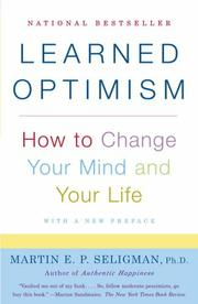 Cover art for LEARNED OPTIMISM