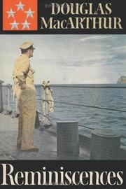 REMINISCENCES by General Douglas MacArthur