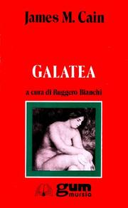 GALATEA by James M. Cain