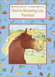 Cover art for YOU'RE GROWING UP, PONTUS!