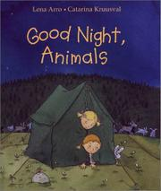 GOOD NIGHT, ANIMALS by Lena Arro