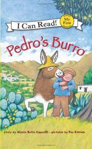 PEDRO'S BURRO by Alyssa Satin Capucilli
