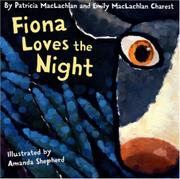 Cover art for FIONA LOVES THE NIGHT