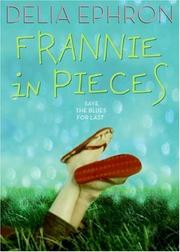 FRANNIE IN PIECES by Delia Ephron