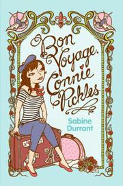 BON VOYAGE, CONNIE PICKLES by Sabine Durrant