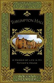 Cover art for THRUMPTON HALL