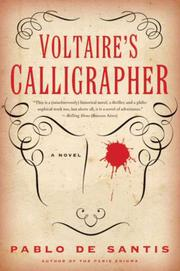 Cover art for VOLTAIRE'S CALLIGRAPHER