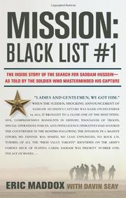 MISSION: BLACK LIST #1 by Eric Maddox