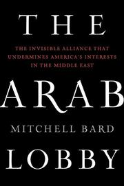THE ARAB LOBBY by Mitchell Bard