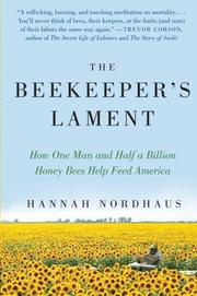 THE BEEKEEPER'S LAMENT by Hannah Nordhaus