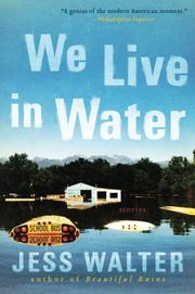 Book Cover for WE LIVE IN WATER