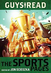 Book Cover for THE SPORTS PAGES