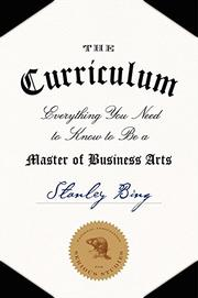 THE CURRICULUM by Stanley Bing