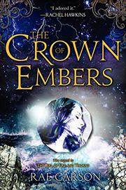 Cover art for THE CROWN OF EMBERS