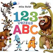 123 VERSUS ABC by Mike  Boldt