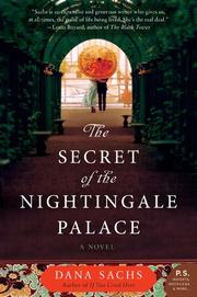 Cover art for THE SECRET OF THE NIGHTINGALE PALACE