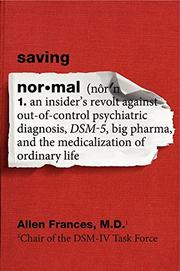 Cover art for SAVING NORMAL