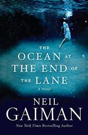 Cover art for THE OCEAN AT THE END OF THE LANE