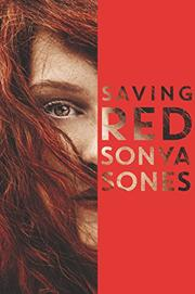 SAVING RED by Sonya Sones