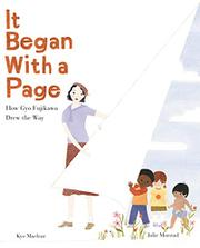 IT BEGAN WITH A PAGE by Kyo Maclear