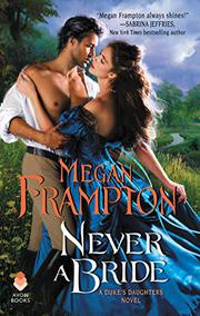 NEVER A BRIDE by Megan Frampton