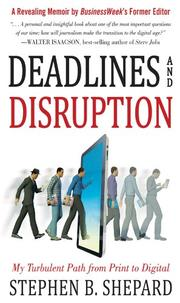 Book Cover for DEADLINES AND DISRUPTION