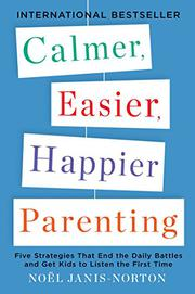 Book Cover for CALMER, EASIER, HAPPIER PARENTING