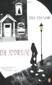 THE AMNESIAC by Sam Taylor