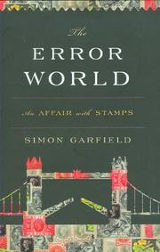 THE ERROR WORLD by Simon Garfield