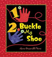Book Cover for 1, 2, BUCKLE MY SHOE