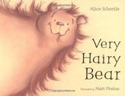 Book Cover for VERY HAIRY BEAR