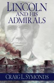 Cover art for LINCOLN AND HIS ADMIRALS