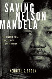 Book Cover for SAVING NELSON MANDELA