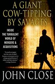 A GIANT COW-TIPPING BY SAVAGES by John Weir Close