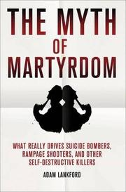 Book Cover for THE MYTH OF MARTYRDOM