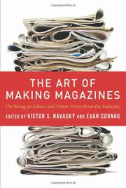 THE ART OF MAKING MAGAZINES by Victor S. Navasky
