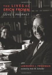 Book Cover for THE LIVES OF ERICH FROMM