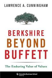 BERKSHIRE BEYOND BUFFETT by Lawrence A. Cunningham